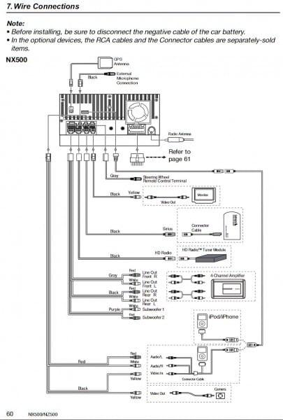 Clarion Nz500 Wiring Diagram Wire Throughout At Clarion Nz500