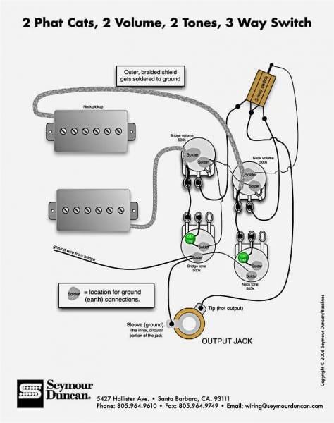 Cool 3 Pickup Les Paul Wiring Images Electrical Circuit Diagram