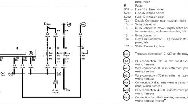 Vw Cabrio Audio Wiring