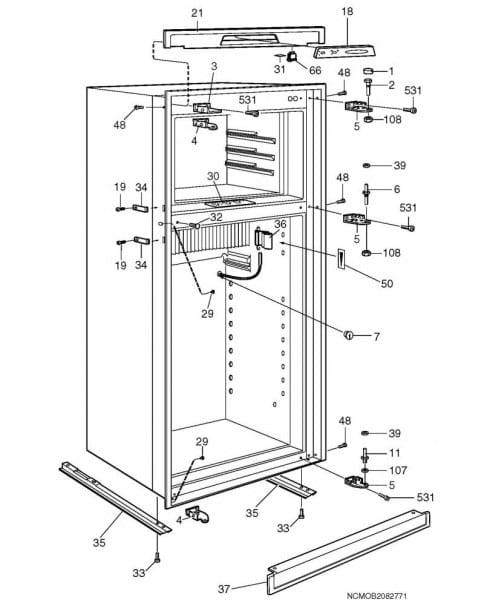 Refrigerators Parts  Fridge Parts