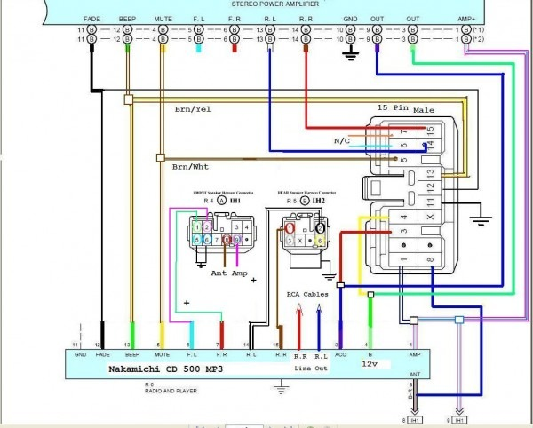 Dual Stereo Wiring Diagram