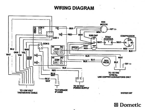 Duo Therm Rv Furnace Thermostat Wiring Diagram