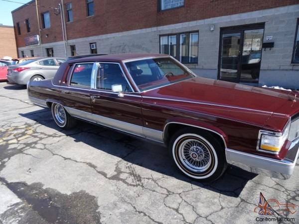 Cadillac   Brougham D'elegance Sedan 4
