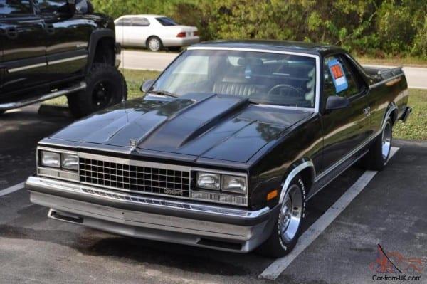 Chevy El Camino 1983 Gmc Caballero