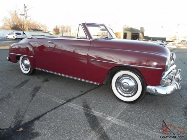 51 Plymouth Cranbrook Convertible  Only 20,732 Miles  Power Top