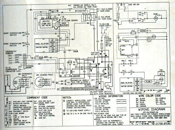 Electric Furnace Wiring Diagram
