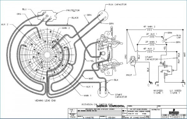 Emerson Motor Wiring Diagram