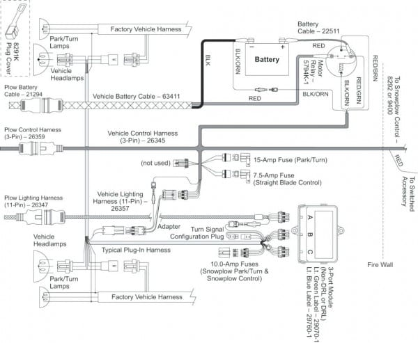 Fisher Snow Plow Minute Mount Wiring Diagram