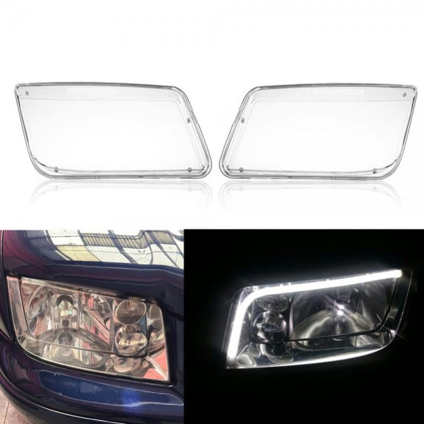 For Vw Mk4 Jetta Bora 1998 2004 Car Headlight Headlamp Bulbs Cover