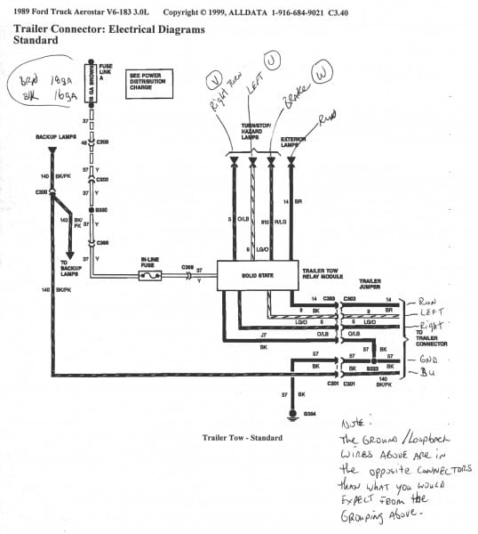Ford F150 Trailer Wiring Diagram Mihella Me Inside Harness