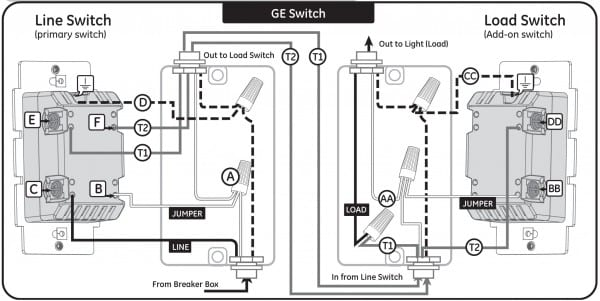 how to connect a 4 way switch 1985 Mustang Wiring Diagram