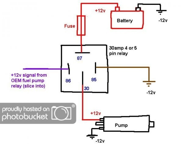 Fuel Pump Wiring Relay