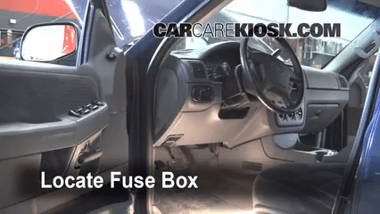 2002 Ford F150 Fuse Box Removal