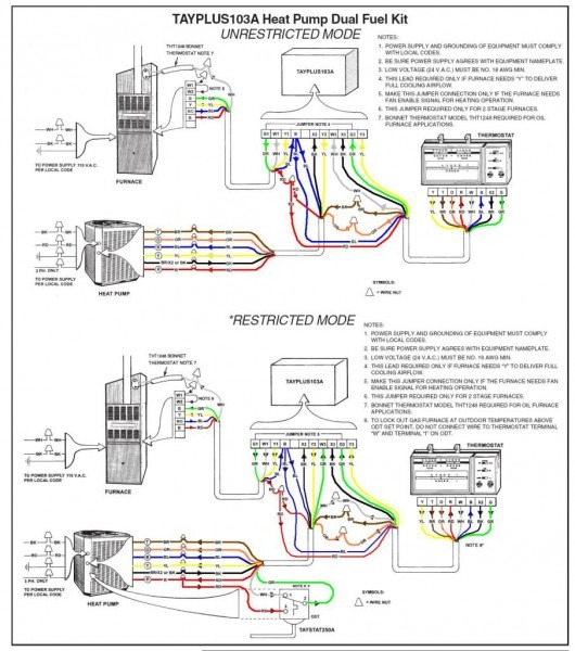 Bryant Thermostat Wiring Diagram At Heat Pump
