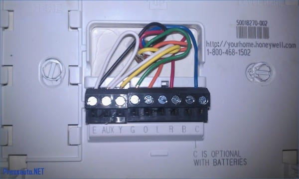 Honeywell Thermostat Wiring Diagram Lovely Heat Pump Mesmerizing