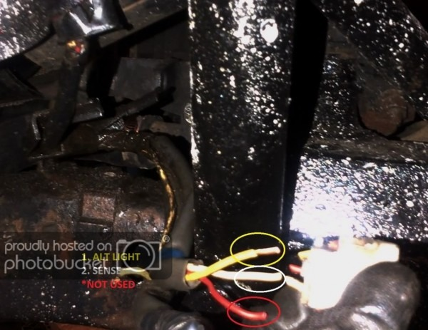 How To  Gm 1 Wire Alternator To A 3 Wire In Toyota