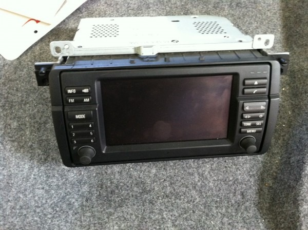 Bmw E46 Double Din Aftermarket Stereo Indash Installation