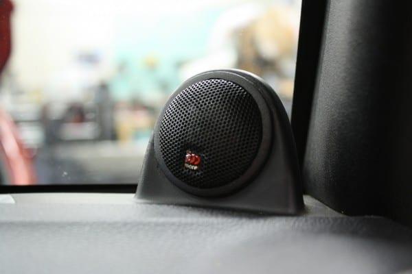 Jeep Wrangler Stereo Upgrade