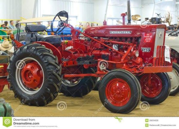 International Farmall Model 140 Tractor Editorial Photo