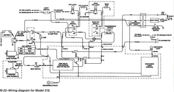 John Deere Mower Wiring Diagram