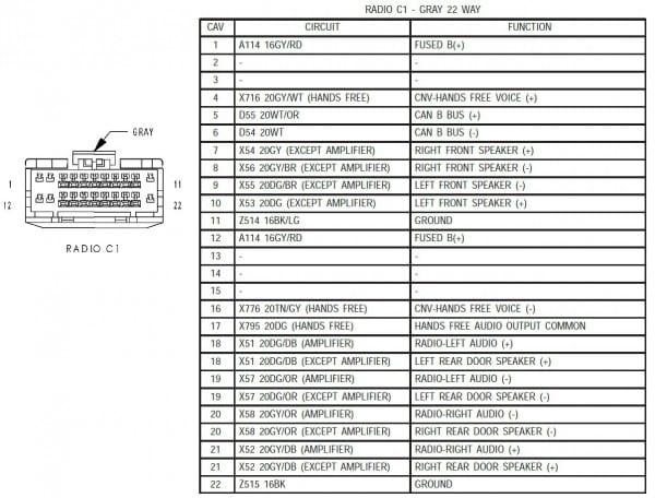 Kenwood Car Audio Wiring Diagram