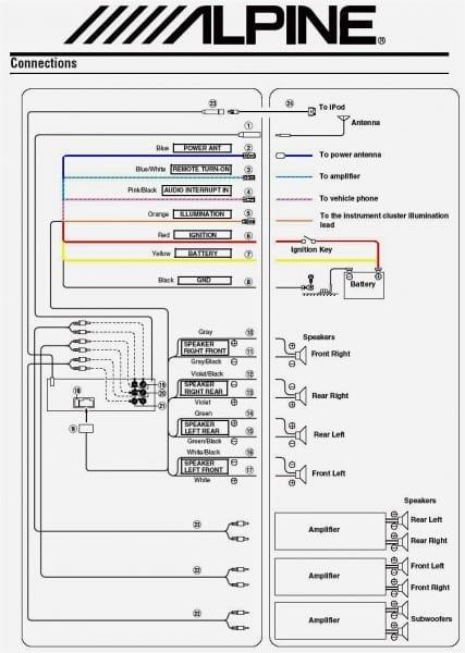 Wiring Diagram Kenwood Kdc 155u
