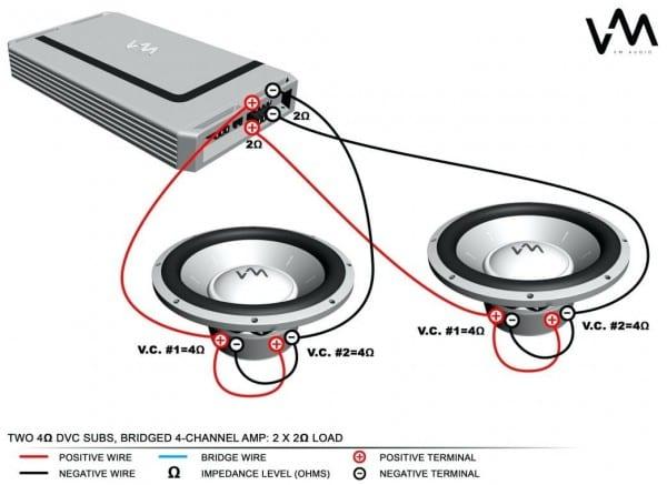Kicker Cvr 12 2 Ohm Wiring Diagram Fresh 4 Dual Voice Coil