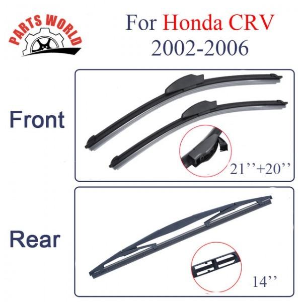 Honda Crv Windshield Wipers Size