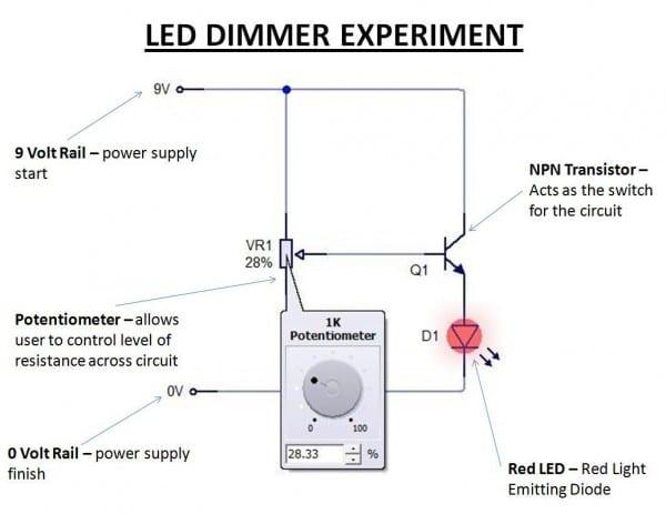 Led Dimmer  Led Dimmer Circuit