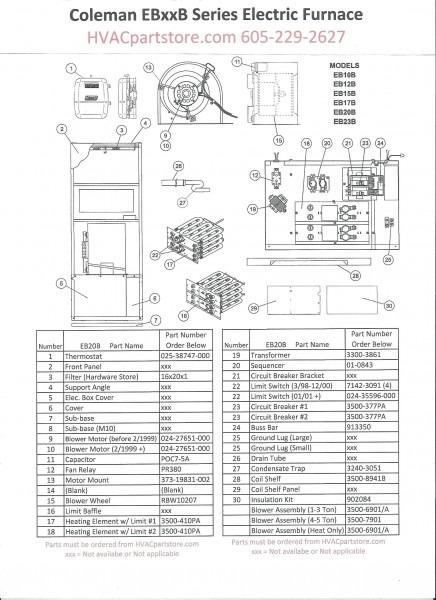Lennox Electric Furnace Wiring Diagram