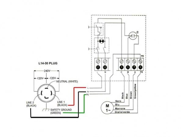 Lovely Nema L14 30 Wiring Diagram 86 With Additional 95 Honda