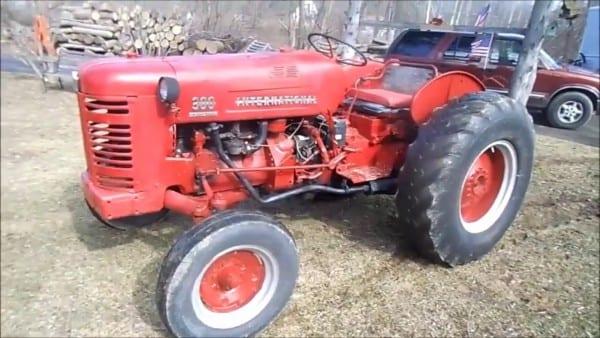 Ih 300 Utility Tractor 1955walk Around, 1st Day