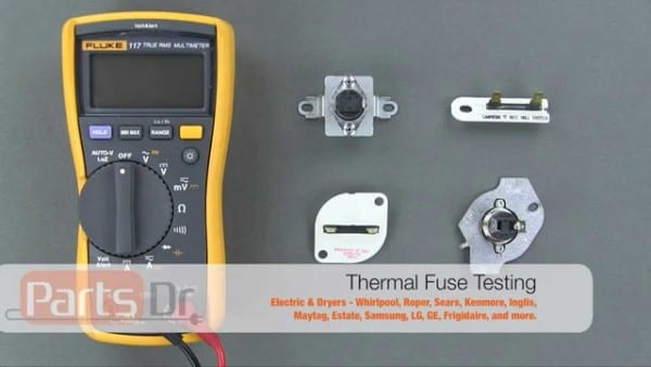 How To Test A Dryer Thermal Fuse For Continuity