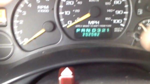 Chevy Silverado Dash Lights Not Working
