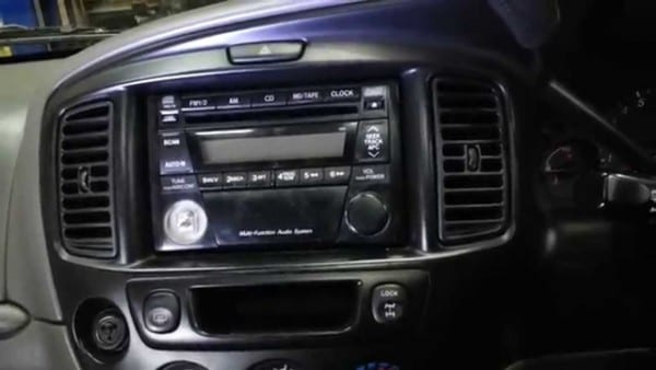How To Remove The Factory Radio From A Ford Escape, Mazdatribute