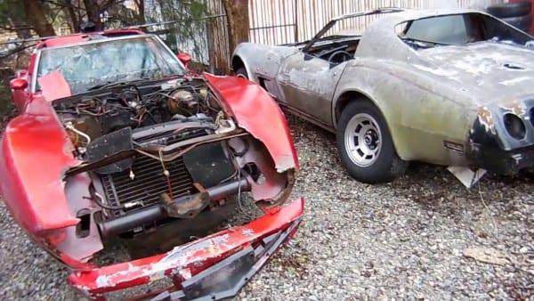 C3 Corvette Parts Cars! Who Needs Parts  1978 & 1977