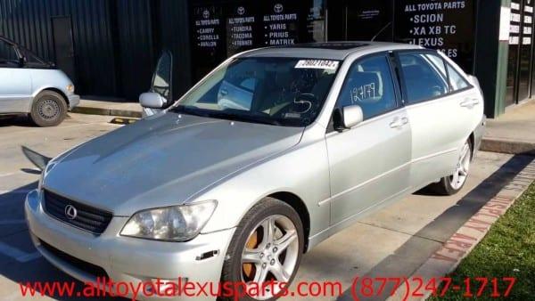 Lexus Is 300 2001 Car For Parts