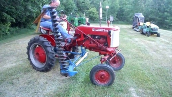 1948 Farmall Cub Tractor With Sickle Mower