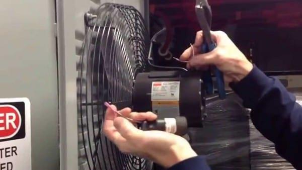 Dayton Fan Motor Start & Run Capacitor Replacement