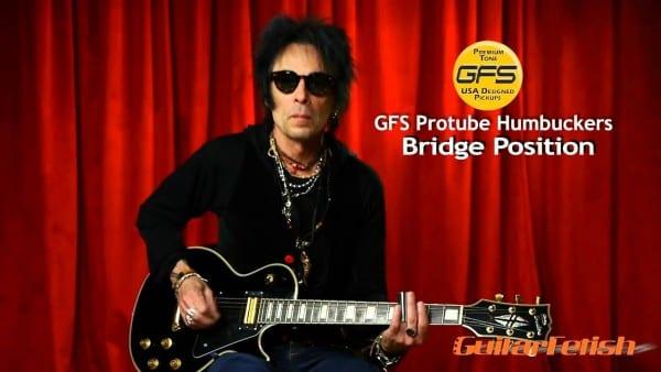 Gfs Pickups  Earl Slick Tests The Gfs Alnico Ii Protube Lipstick