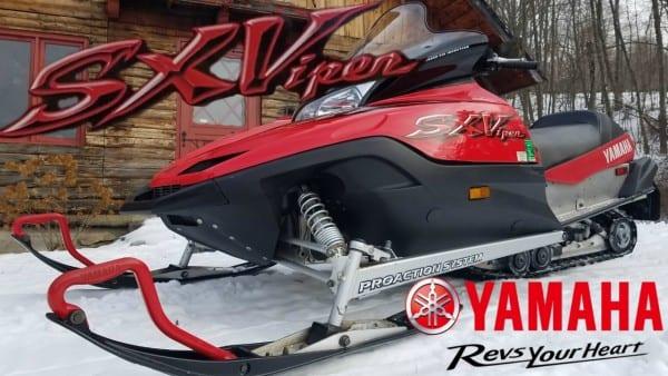 2002 Yamaha Sx Viper 700 Triple