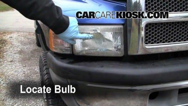 1997 Dodge Ram Turn Signal, Headlight And Tailight Bulb Change