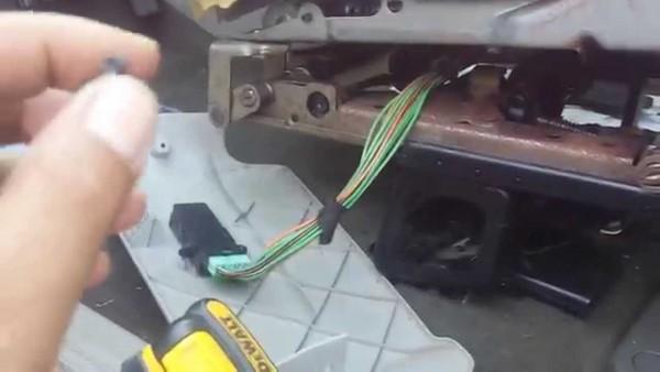 2005 Dodge Caravan Power Seat Quick Fix