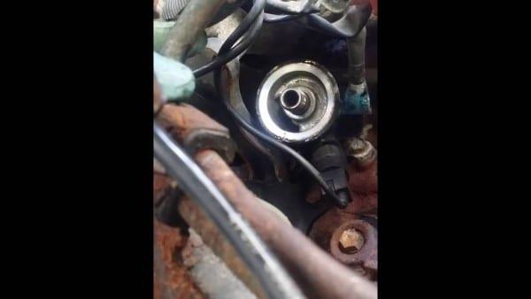 Nissan Frontier Knock Sensor Replacement