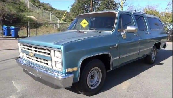 1985 Chevrolet Suburban Youngtimer Custom Deluxe 20 Scottsdale Suv