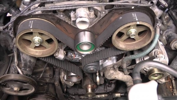 Toyota V6 5vzfe Timing Belt Replacement Diy Part 2