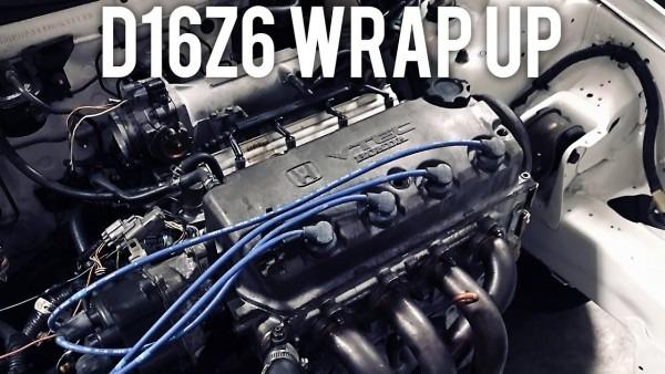 D16z6 Vtec Wiring Harness Install