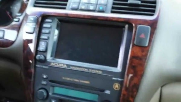 How To Remove Navigation & Radio From Acura Mdx 2002 For Repair