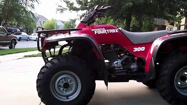 Lifted Honda Fourtrax 300