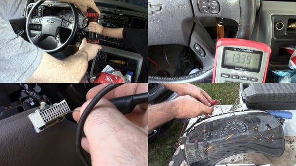2004 Tahoe Instrument Cluster Power Ground Tests And Bench Test